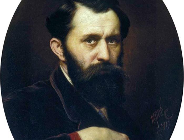 В. Перов. Автопортрет, 1870 | Фото: mmsk.ru