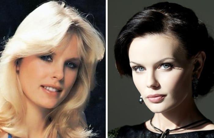 Модели, которые стали жертвами собственной красоты | Фото: peoples.ru и fotogl.com