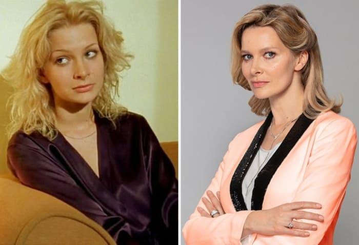 Александра Флоринская тогда и сейчас | Фото: kino-teatr.ru, starhit.ru
