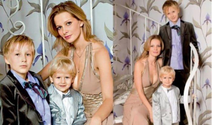 Актриса с детьми | Фото: uznayvse.ru