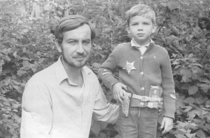 Паша Коноплев в 5-летнем возрасте