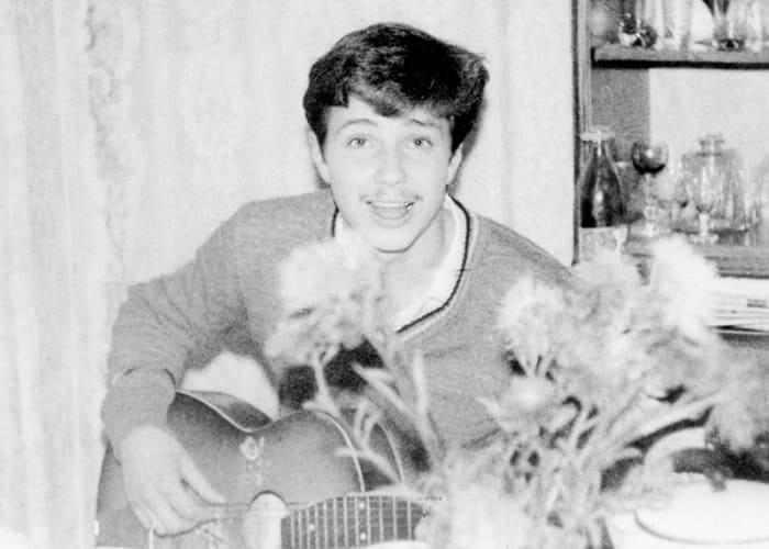 Певец в юности | Фото: asimov.ru