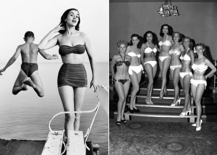 Мисс Мира-1951 Керстин (Кики) Хоканссон и другие участницы конкурса | Фото: photopoint.com.ua и obozrevatel.com