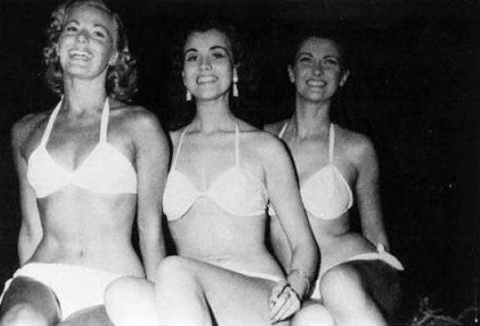 Тройка победительниц конкурса *Мисс Мира* 1951 г. | Фото: fanpop.com