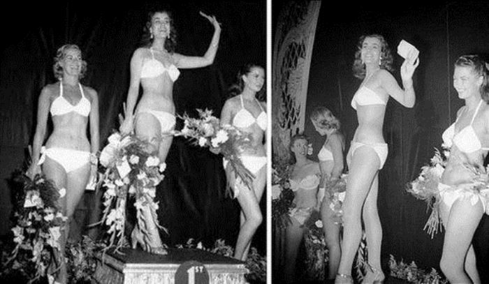 Тройка победительниц конкурса *Мисс Мира* 1951 г.   Фото: obozrevatel.com