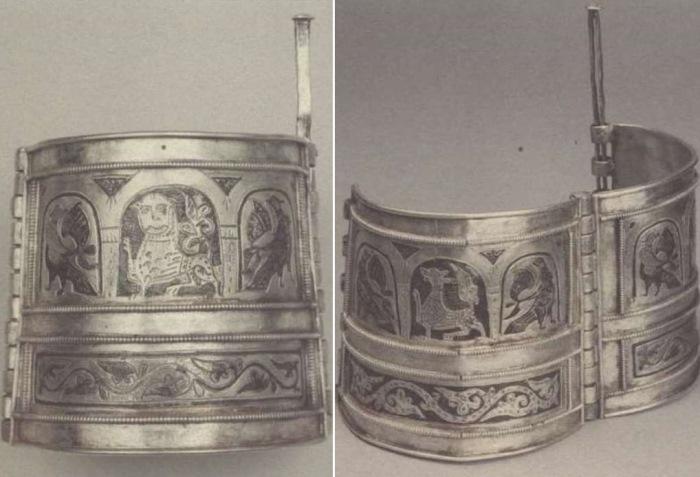 Серебряные браслеты из *Большого Кремлевского клада* | Фото: rusarch.ru