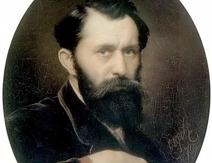 В. Перов. Автопортрет, 1870. Фрагмент | Фото: gallerix.ru