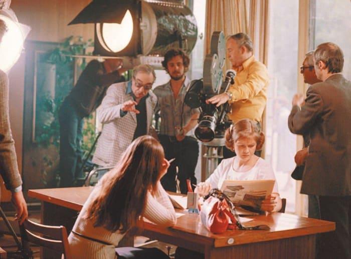 Режиссер Самсон Самсонов на съемках фильма | Фото: tele.ru