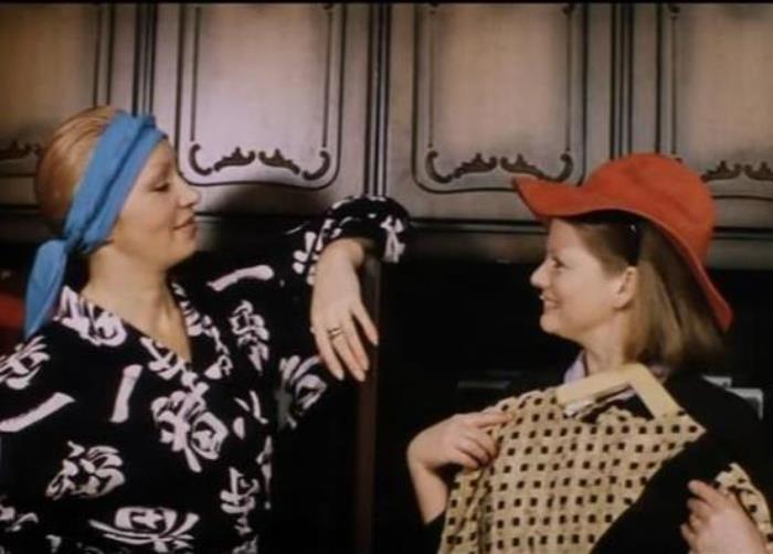 Кадр из фильма *Самая обаятельная и привлекательная*, 1985 | Фото: oursociety.ru
