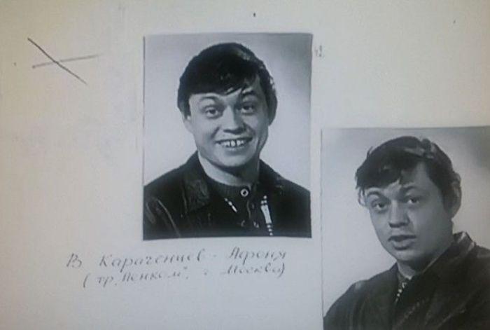 Фотопробы Караченцова на роль Афони | Фото: prikolno.cc