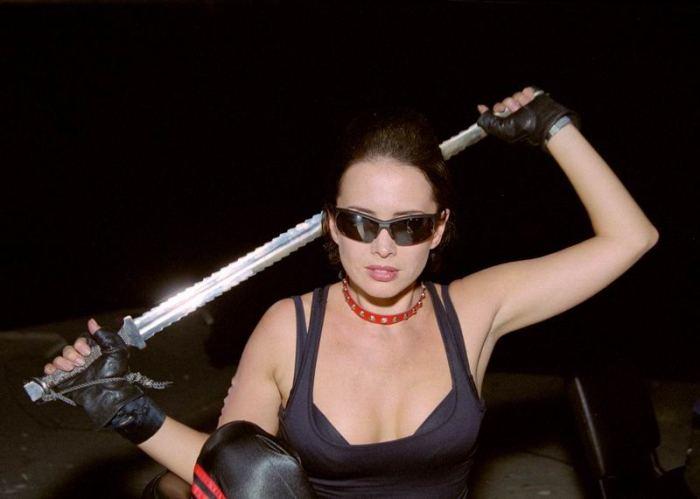 Жанна Фриске на съемках фильма | Фото: convent.ru