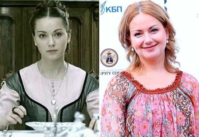 Ольга Будина в сериале *Идиот* и в наши дни | Фото: kino-teatr.ru и vokrug.tv