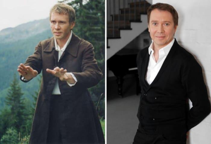 Евгений Миронов тогда и сейчас | Фото: kino-teatr.ru