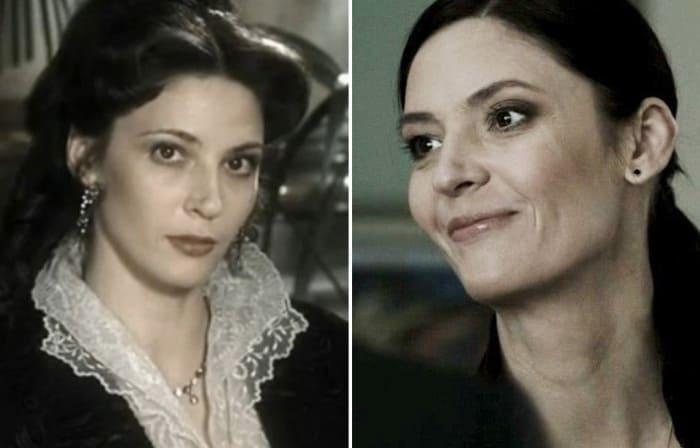 Лидия Вележева в 2003 и в 2016 гг. | Фото: kino-teatr.ru