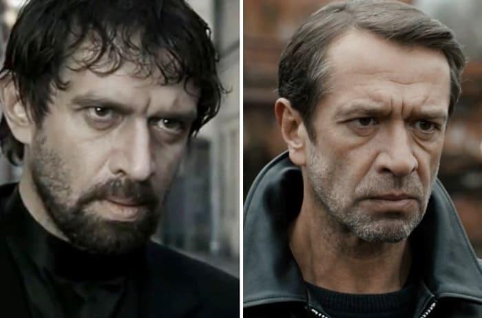 Владимир Машков в 2003 и в 2017 гг. | Фото: kino-teatr.ru