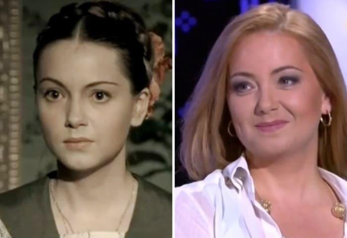 Ольга Будина в 2003 и в 2018 гг. | Фото: kino-teatr.ru и vokrug.tv