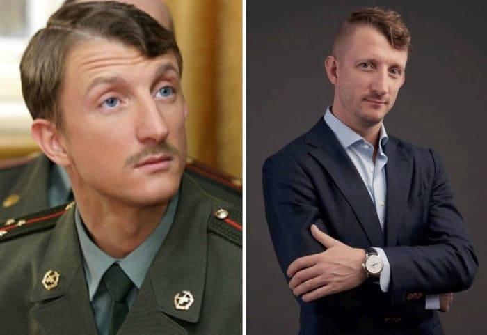 Игнатий Акрачков в сериале *Солдаты* и в наши дни | Фото: 24smi.org и kino-teatr.ru