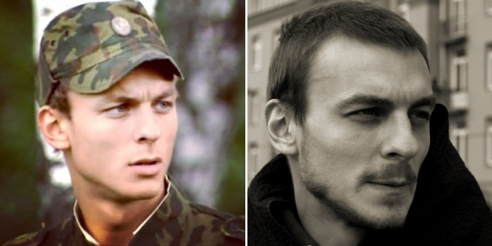 Александр Лымарев в сериале *Солдаты* и в наши дни | Фото: videoboom.cc