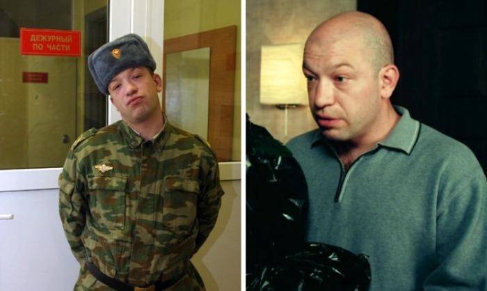 Павел Кассинский в сериале *Солдаты* и в наши дни | Фото: 24smi.org