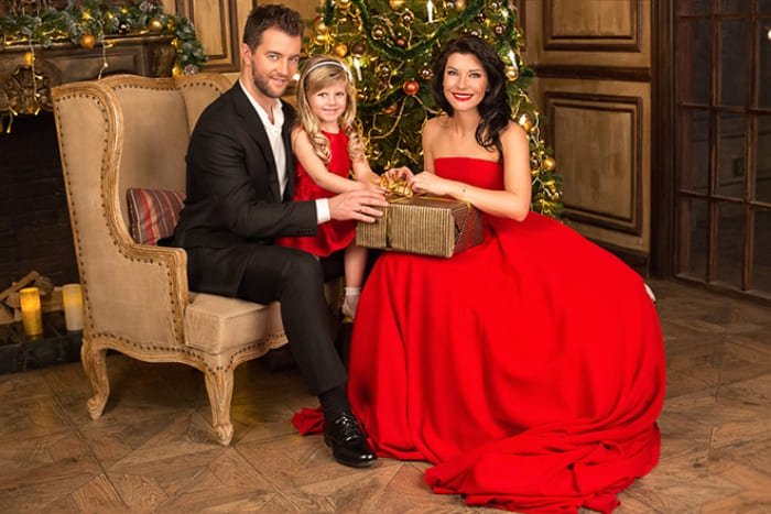 Актриса с мужем и дочерью | Фото: 24smi.org