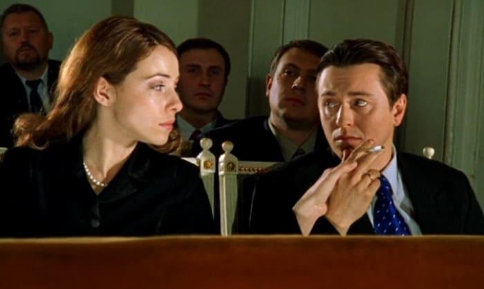 Екатерина Гусева и Сергей Безруков в сериале *Бригада*, 2002 | Фото: imdb.com