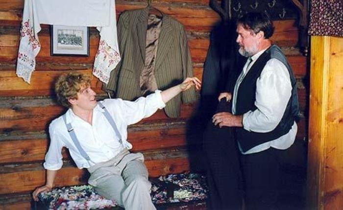Сергей и Виталий Безруковы в сериале *Есенин*, 2005 | Фото: ru.kinorium.com