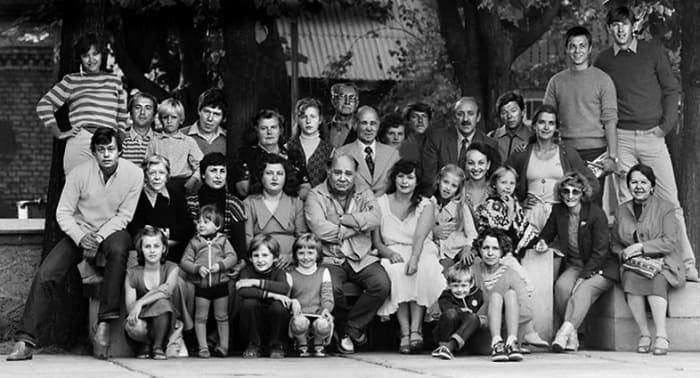 Актеры театра *Ленком*, 1980-е гг. | Фото: kstolica.ru