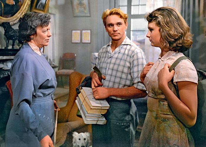 Кадр из фильма *Первое свидание*, 1960 | Фото: 7days.ru