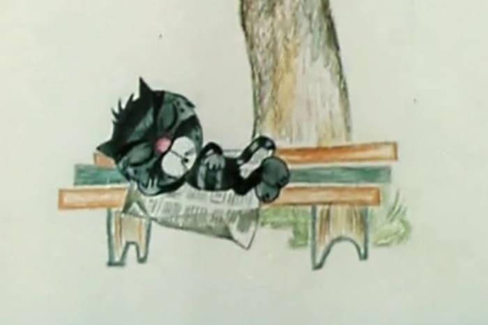 Кот Матроскин в первом мультфильме 1975 г. | Фото: 24smi.org