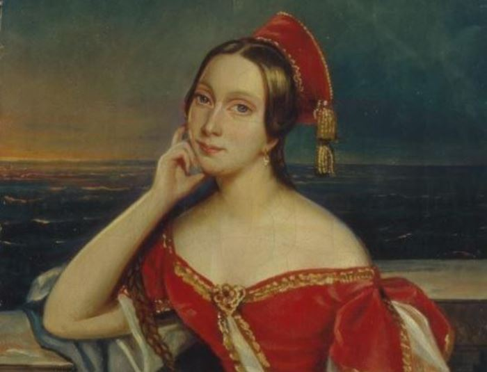Мария Тальони на картине неизвестного художника, 1830-е гг. | Фото: artchive.ru