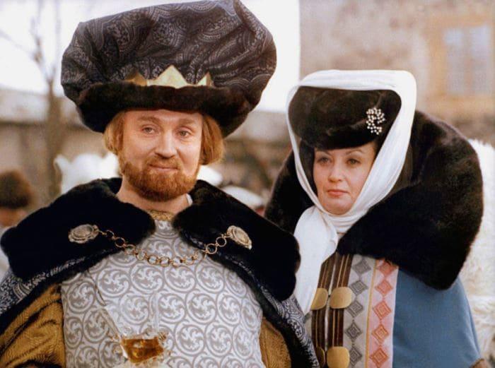Рольф Хоппе и Карин Леш в роли Короля и Королевы | Фото: tvc.ru