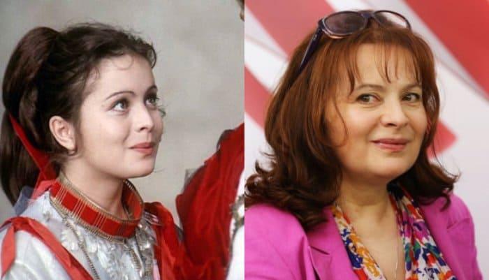 Либуше Шафранкова в молодости и в зрелые годы | Фото: clutch.ua