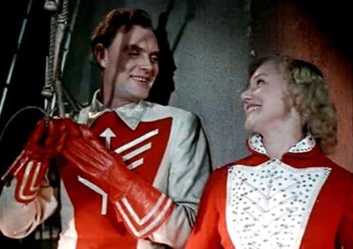 Кадр из фильма *Укротительница тигров*, 1954 | Фото: kino-teatr.ru