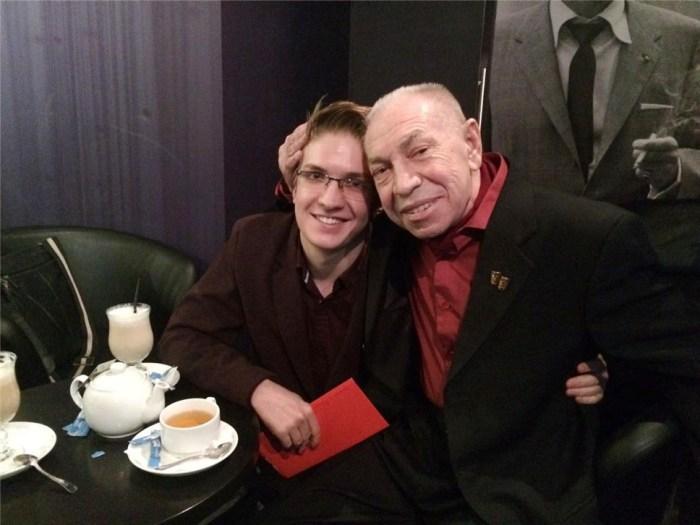 Актер с сыном Родионом | Фото: rewizor.ru