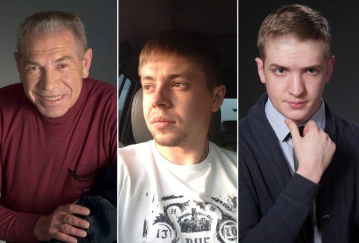 Владимир Толоконников и его сыновья Иннокентий и Родион | Фото: retrospectra.ru