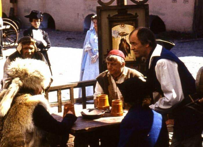 Актеры на съемках фильма   Фото: dubikvit.livejournal.com