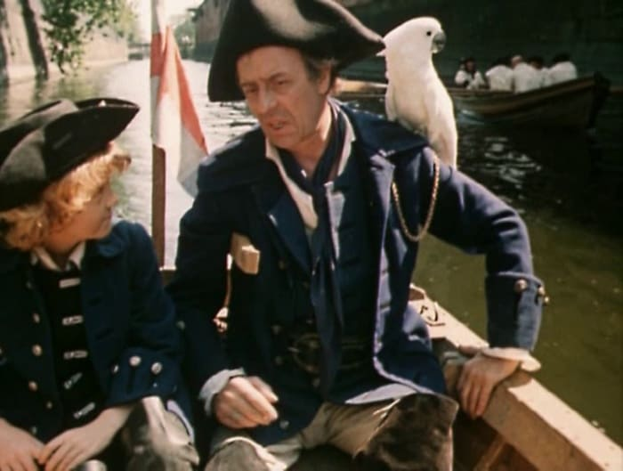 Кадр из фильма *Остров сокровищ*, 1982 | Фото: kino-teatr.ru