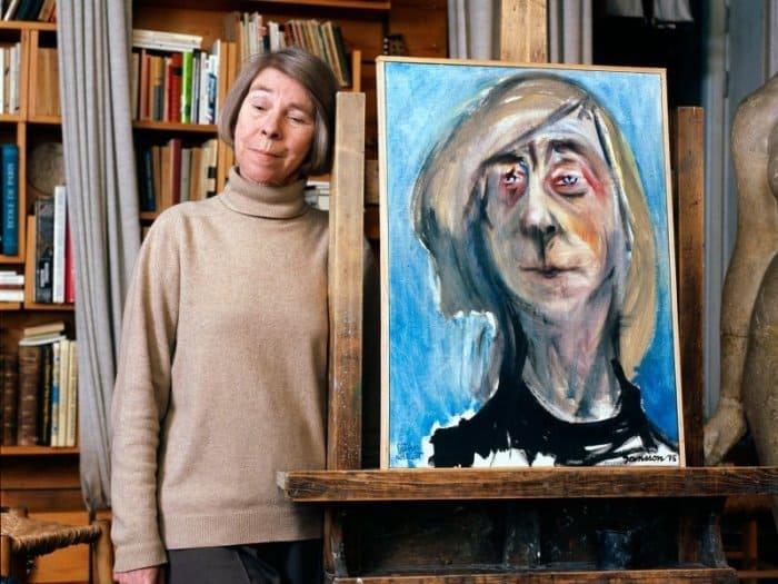 Туве Янссон и ее автопортрет, 1975 | Фото: rustoria.ru