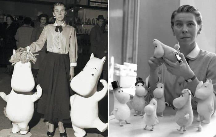 Туве Янссон и ее муми-тролли | Фото: mumidol.com