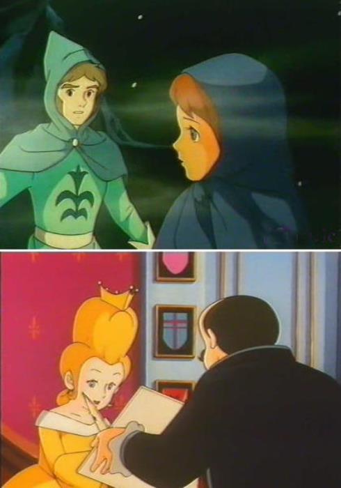 Кадры из японского мультфильма *12 месяцев*, 1980 | Фото: guidelife.ru