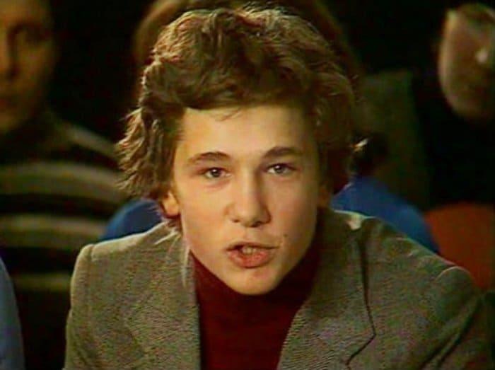 Александр Михайлов в 17 лет   Фото: kino-teatr.ru