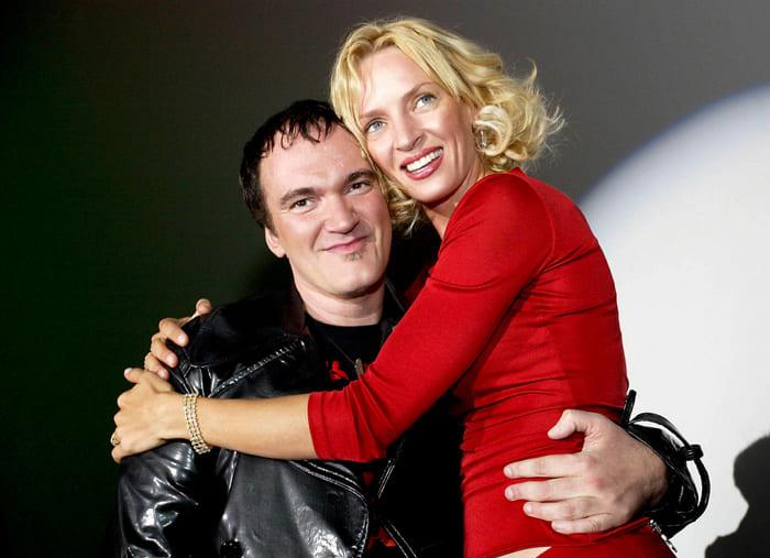 Квентин Тарантино и Ума Турман | Фото: peopletalk.ru