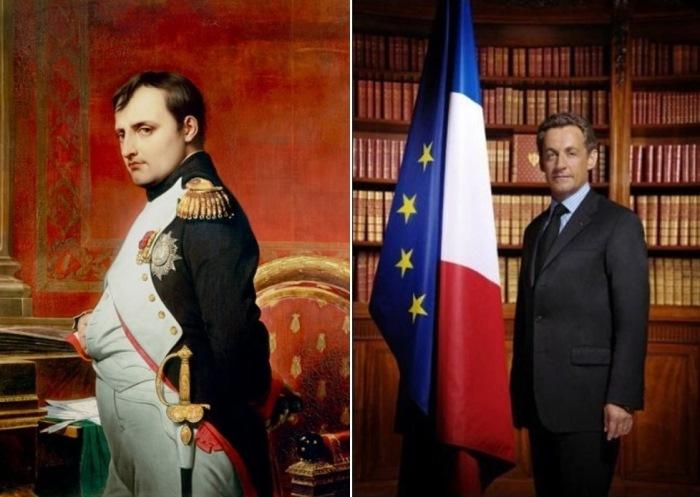 Наполеон Бонапарт и Николя Саркози