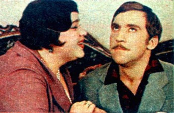 Фотопроба Н. Крачковской и В. Высоцкого к фильму *Двенадцать стульев*, 1971 | Фото: starbom.com