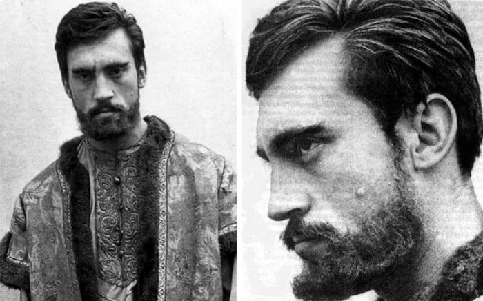 Фотопроба Высоцкого к фильму *Андрей Рублев*, 1965 | Фото: nuz.uz