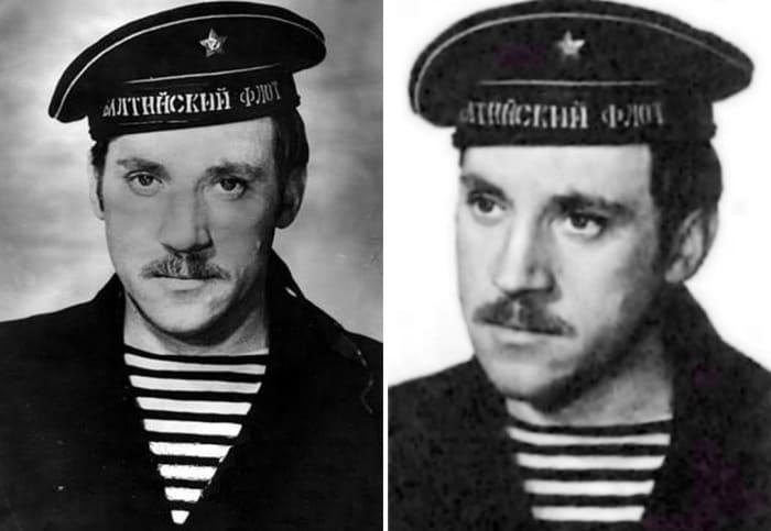 Фотопроба Высоцкого к фильму *Красная площадь*, 1970 | Фото: nuz.uz и subscribe.ru