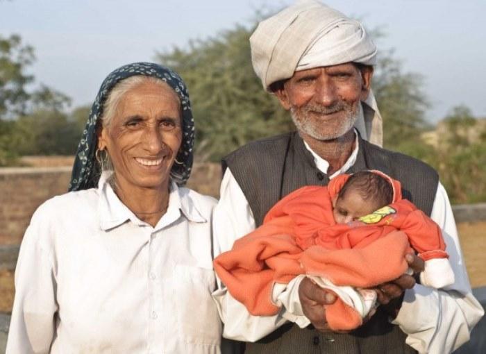 Райо Деви Лохан – самая пожилая мать в мире