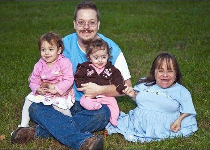 Стейси Херальд и ее счастливая семья