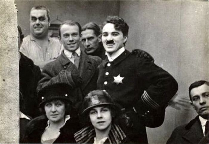 Вацлав Нижинский и Чарли Чаплин, 1916 | Фото: renclassic.ru