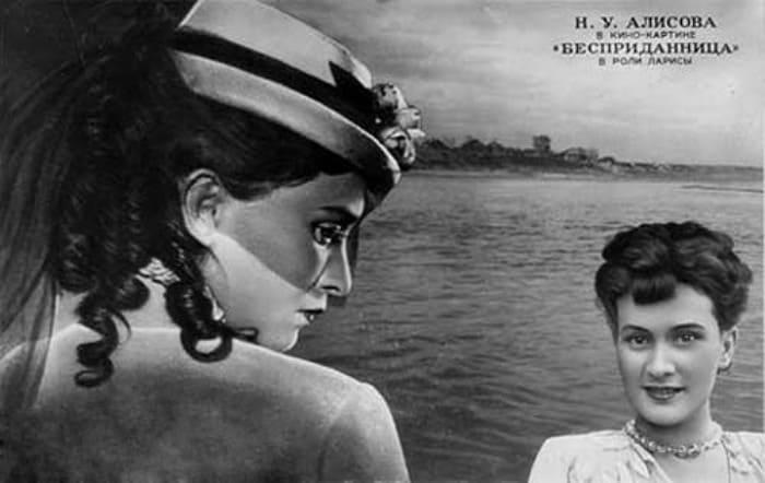 Нина Алисова в фильме *Бесприданница*, 1936 | Фото: kino-teatr.ru